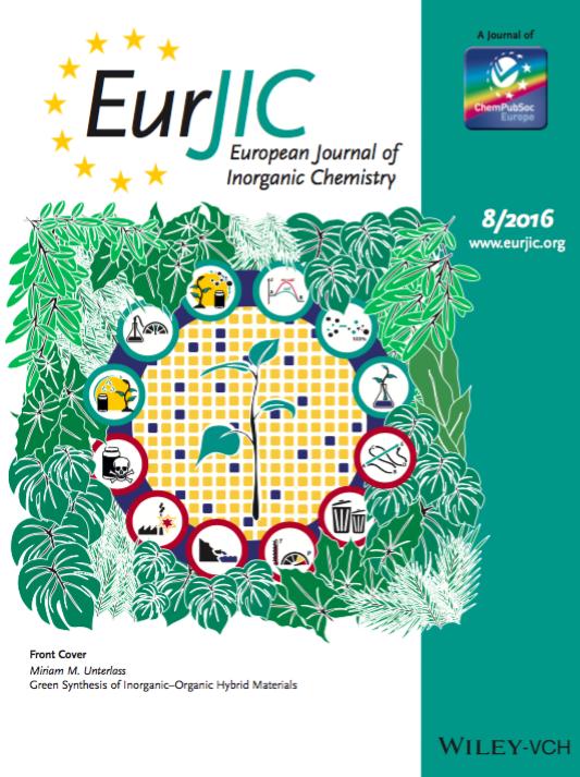 European Journal of Inorganic Chemistry