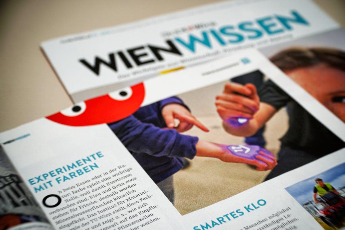 feature in the magazine wien wissen - unterlasslab